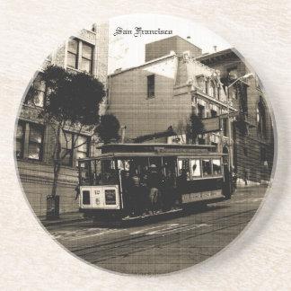 San Francisco Drahtseilbahn Getränke Untersetzer