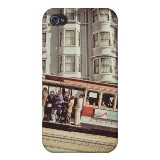 San Francisco Drahtseilbahn iphone Fall Etui Fürs iPhone 4