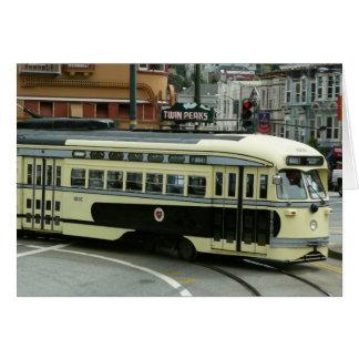 San Francisco Drahtseilbahn-Karte
