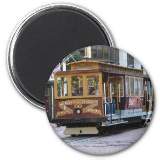 San Francisco Drahtseilbahn Magnets