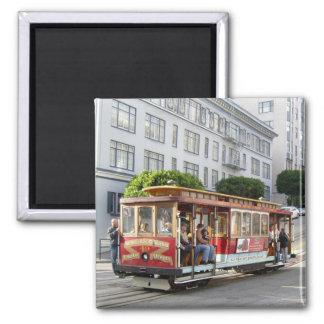 San Francisco Drahtseilbahn Kühlschrankmagnet