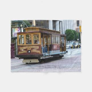 San Francisco Drahtseilbahn Fleecedecke