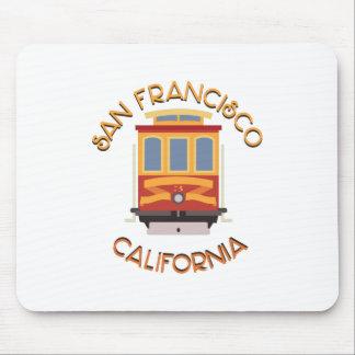 San Francisco Drahtseilbahn Mousepads