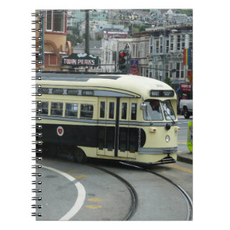 San Francisco Drahtseilbahn Notizbücher