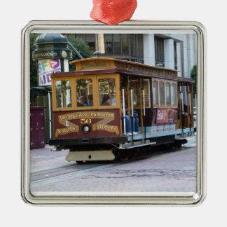San Francisco Drahtseilbahn Weinachtsornamente