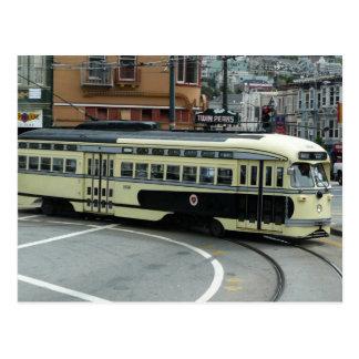 San Francisco Drahtseilbahn-Postkarte