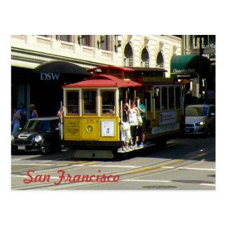 San Francisco Drahtseilbahn Postkarten