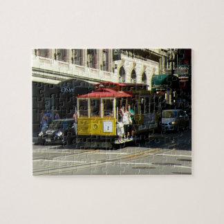 San Francisco Drahtseilbahn Puzzle