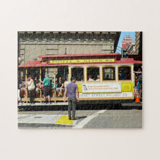 San Francisco Drahtseilbahn Foto Puzzle