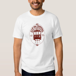 San Francisco Drahtseilbahn Shirts