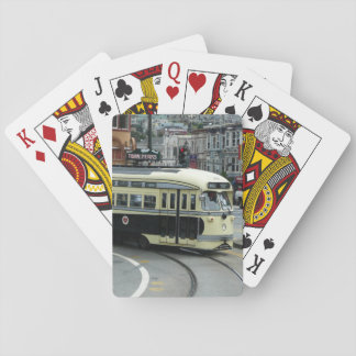 San Francisco Drahtseilbahn Spielkarte