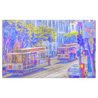 San Francisco, Drahtseilbahn Stoff