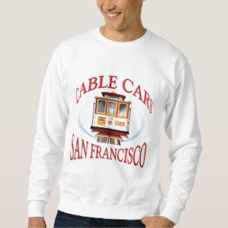 San Francisco Drahtseilbahn Sweatshirt
