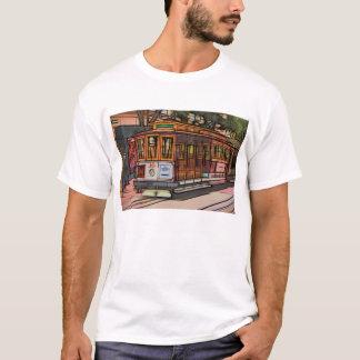 San Francisco Drahtseilbahn T-Shirt