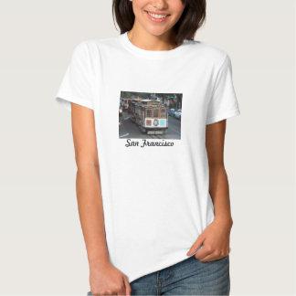 San Francisco Drahtseilbahn T Shirt