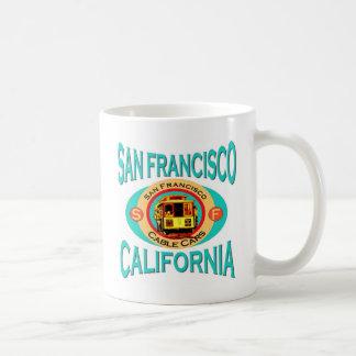 San Francisco Drahtseilbahn Tasse