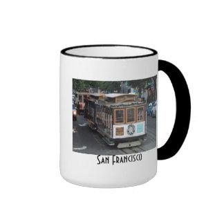 San Francisco Drahtseilbahn Teetassen