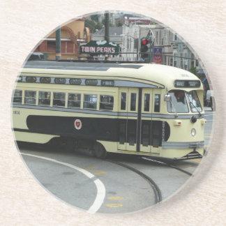 San Francisco Drahtseilbahn-Untersetzer