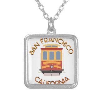 San Francisco Drahtseilbahn Versilberte Kette