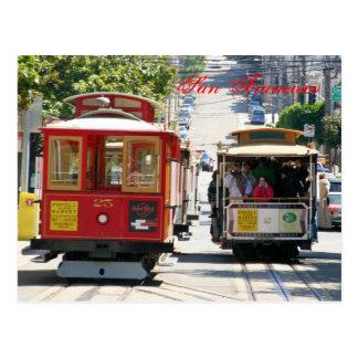 San Francisco Drahtseilbahnen Postkarte