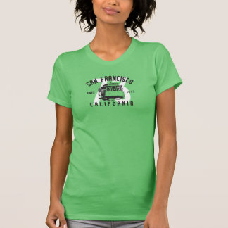 San Francisco Drahtseilbahnentwurf T-Shirt