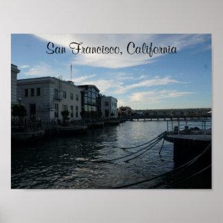 San Francisco Embarcadero #7-2 Plakat