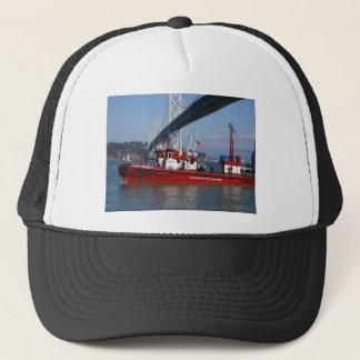 San Francisco Feuer-Boot Truckerkappe