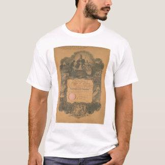 San Francisco Feuerwehr-Zertifikat (1481A) T-Shirt
