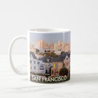 San Francisco - gemalte Damen-Kaffee-Tasse Kaffeetasse