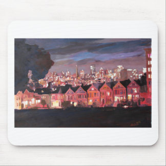San Francisco - gemalte Damen Mousepad
