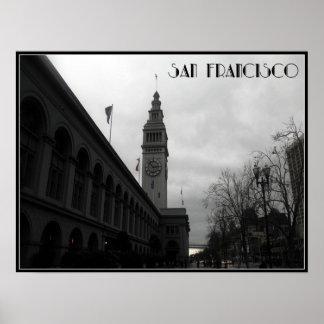 San Francisco Glockenturm Poster