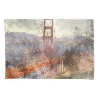 San Francisco Golden gate bridge in Kalifornien Kissenbezug