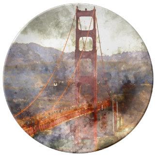 San Francisco Golden gate bridge in Kalifornien Teller