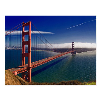 San Francisco Golden gate bridge Postkarte