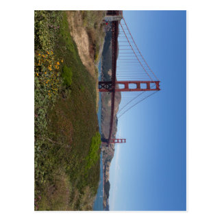 San Francisco Golden gate bridge Postkarte