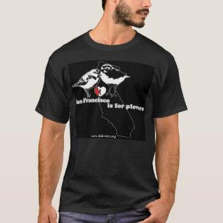 San Francisco ist für Regenpfeifer - Staats-Bild T-Shirt