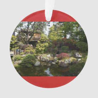 San Francisco japanische Rot-Verzierung des Ornament