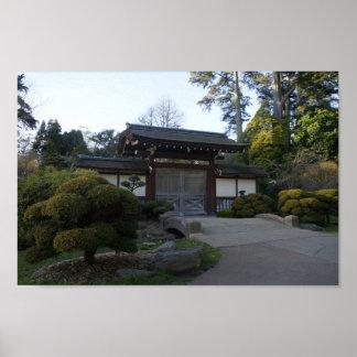 San Francisco japanisches Plakat des Tee-Garten-#5