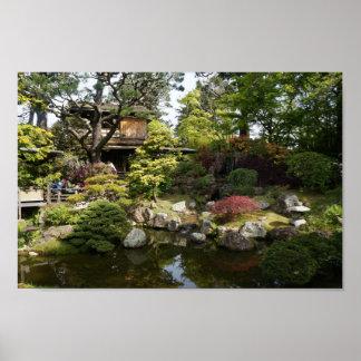 San Francisco japanisches Plakat des Tee-Garten-#6