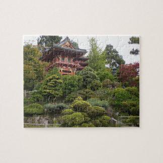 San Francisco japanisches Tee-Garten-Puzzle Puzzle
