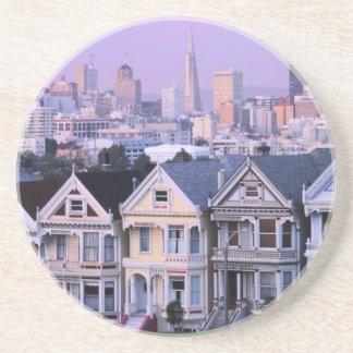 San Francisco, Kalifornien. Ansicht von Getränkeuntersetzer