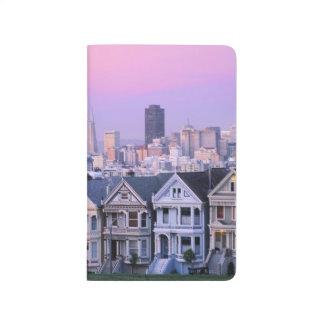 San Francisco, Kalifornien. Ansicht von Taschennotizbuch