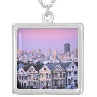 San Francisco, Kalifornien. Ansicht von Versilberte Kette