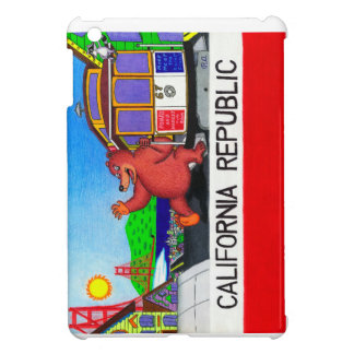 San Francisco Kalifornien Bärn-Flagge 2 iPad Mini Hülle