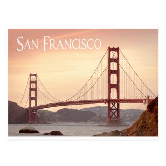 San Francisco Kalifornien Golden gate bridge, USA Postkarte