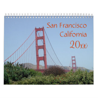 San Francisco Kalifornien Kalender