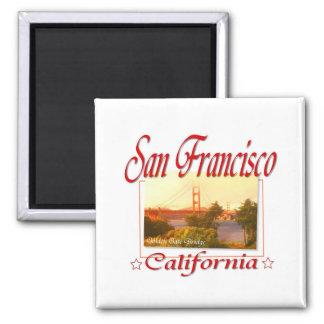 San Francisco Kalifornien Quadratischer Magnet