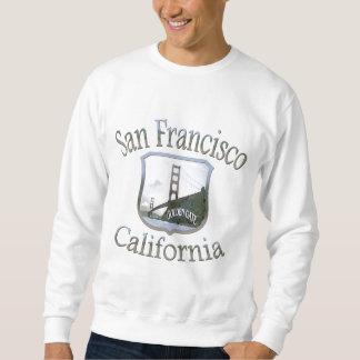 San Francisco Kalifornien Silber Sweatshirt
