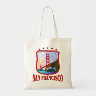 San Francisco Kalifornien Tragetasche