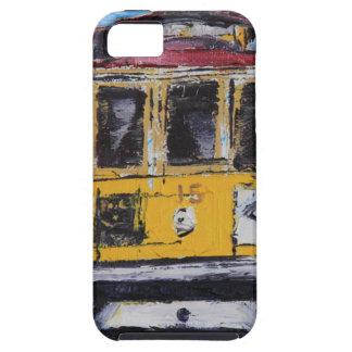 San Francisco Kunst, Drahtseilbahn-Malerei, iPhone 5 Schutzhüllen